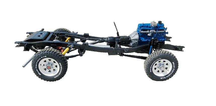 Bronco Body Tub